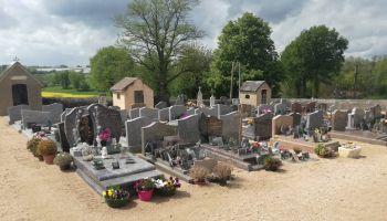 Règlement et plan du cimetière de Saint-Léger-sur-Vouzance
